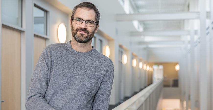 Economics Professor Greg Wright.
