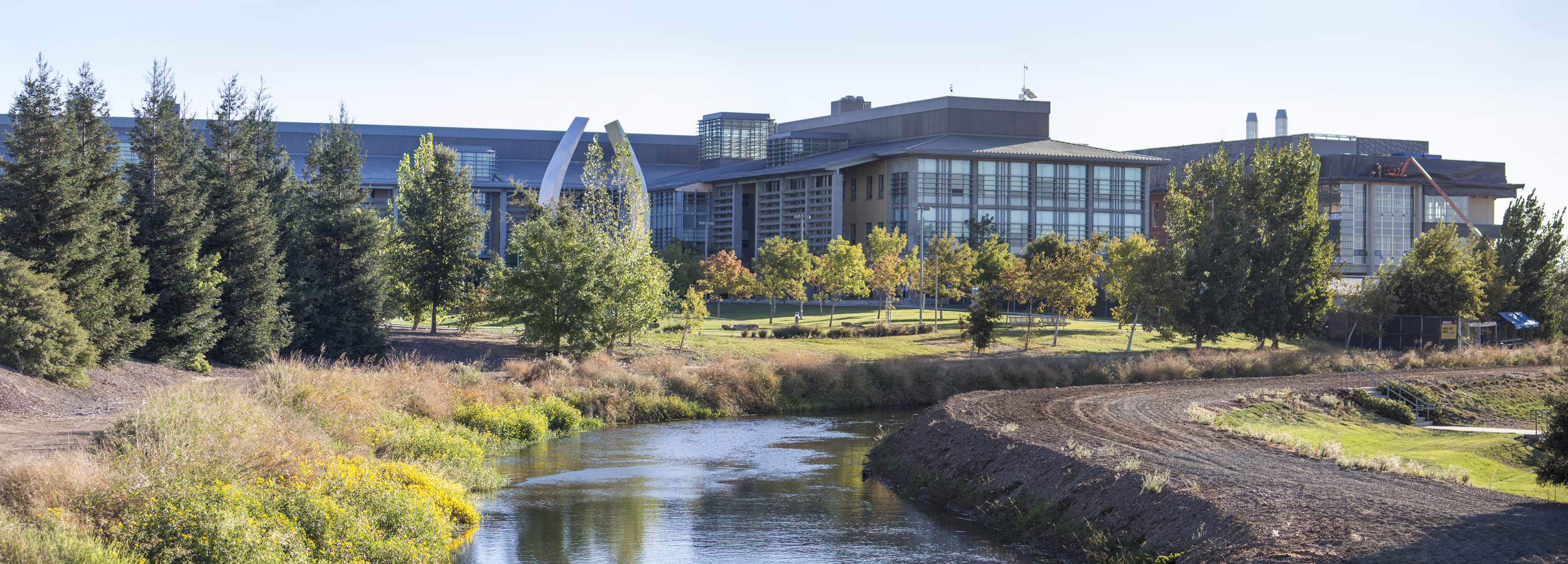 UC Merced's campus